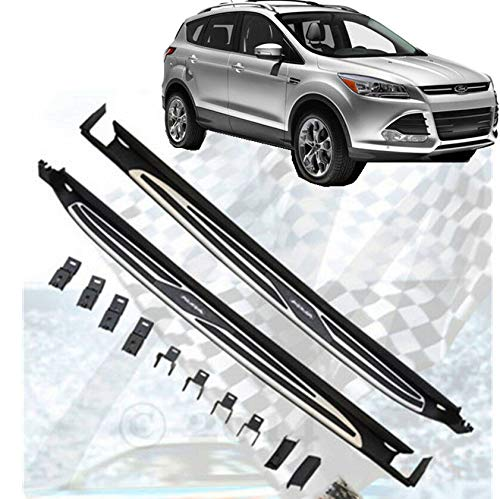 ANTS PART for 13-16 Ford Escape Running Board Pair Set Chrome Trim Nerf Bar Side Set by ANTS PART (Image #7)