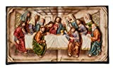 StealStreet SS-OL-OK-2534-P5A 34.25 inch Last Supper Hanging Plaque
