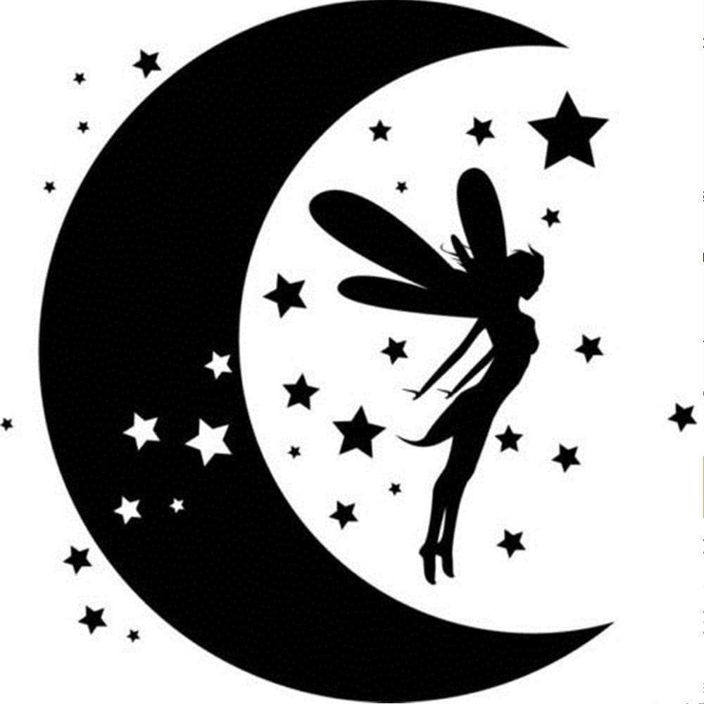 Estrella encantos Inc 2 x Hadas Colgantes * New Mix * Luna 20 X Ángel celestial Hadas