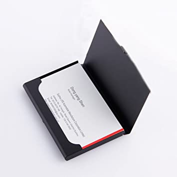 Visitenkarten Etuis Metall Kartenhalter Herren Business