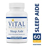 Vital Nutrients – Sleep Aide – Non Habit Forming Relief of Occasional Sleeplessness – 60 Capsules