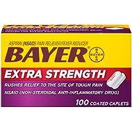 Bayer Extra Strength Bayer 500mg, 100 Count