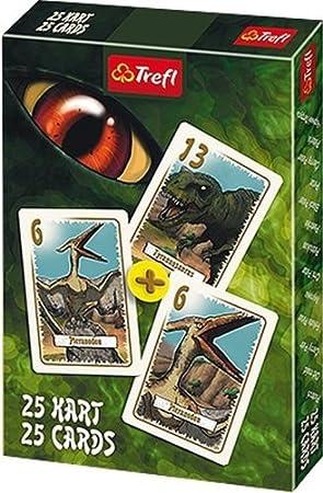 TREFL - Juego de Cartas Dinosaurios, para 1 o más Jugadores (8454) (Importado): Amazon.es: Juguetes y juegos