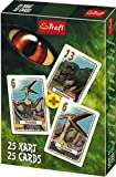 TREFL Juego de cartas Dinosaurios, para 1 o más jugadores (8454) (importado)