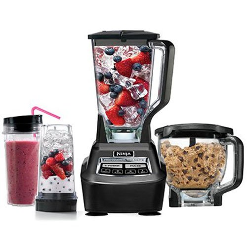 Ninja Mega Kitchen System (Blender, Processor, Nutri Ninja Cups) BL770 by SharkNinja