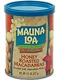 Mauna Loa Macadamias, Honey Roasted, 4.5-Ounce Containers (Pack of 6)
