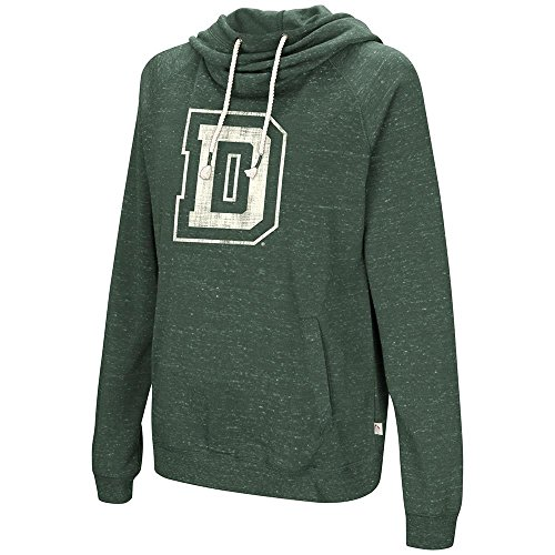 (Colosseum Womens Dartmouth Big Green Pull-Over Hoodie - L)