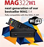 MAG 322 W1 IPTV BOX + IN BUILT WIFI + HDMI CABLE