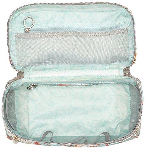 Oilily Damen Jolly Ornament Washbag Mhz 1 Taschenorganizer, Türkis (Light Turquoise), 13x17x28 cm