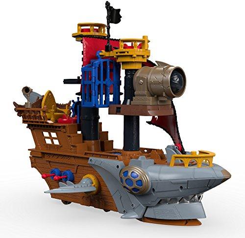 4b51fe97f580d Fisher-Price Imaginext Shark Bite Pirate Ship