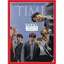 BTS Next Generation Leaders Time Magazine Aisa Edition Cover 2018 October Kpop 방탄소년단 타임지