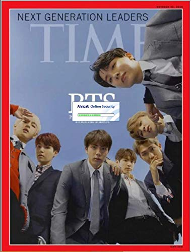 963a9e7f715bc Amazon.com : BTS Next Generation Leaders Time Magazine Aisa Edition Cover  2018 October Kpop 방탄소년단 타임지 : Everything Else