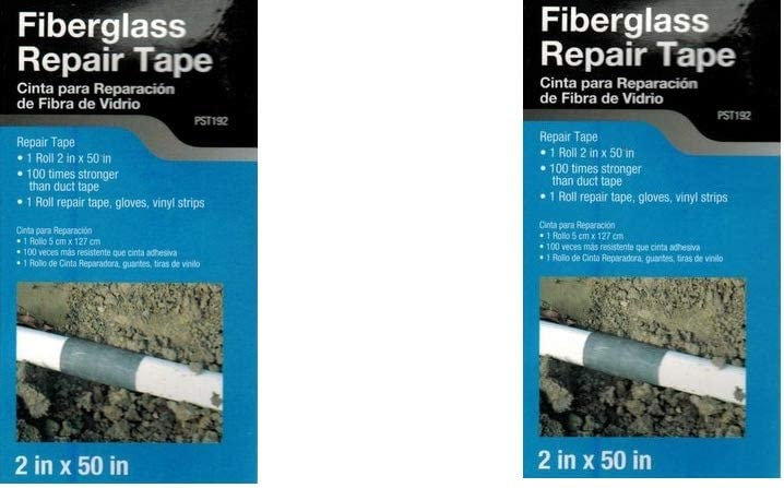 cob Cobra Fiberglass Repair Tape 2in x 50(Pack of 2)