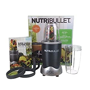 Blender Juicer Combo NutriBullet Magic Bullet 8-Piece Nutrition Extractor Blenders Juicer NBR-8