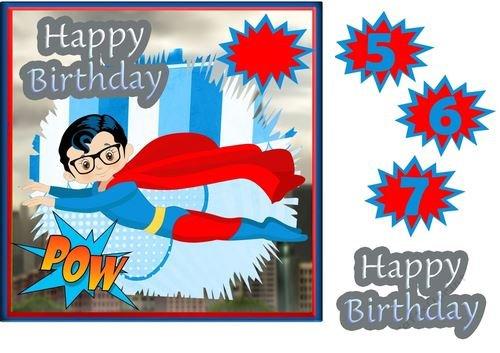 Super Hero para cumpleaños de niños pequeños # 9 por Di ...