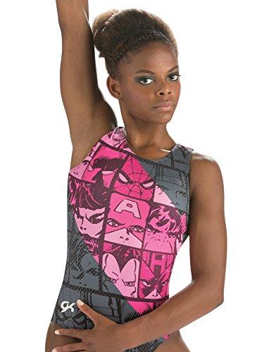 9c61d977afee Marvel Leotard GK   Gymnastsics & Dance   Comics Fierce (Pink),Purple,Small