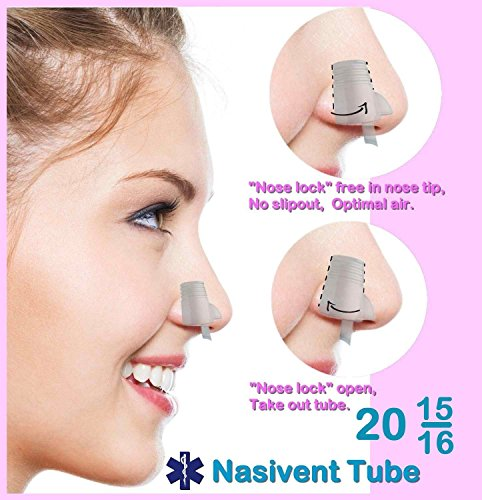 Snoring Aids NASIVENT The Original Nasivent Tube Plus. MODEL 2015 (OLD MODEL)