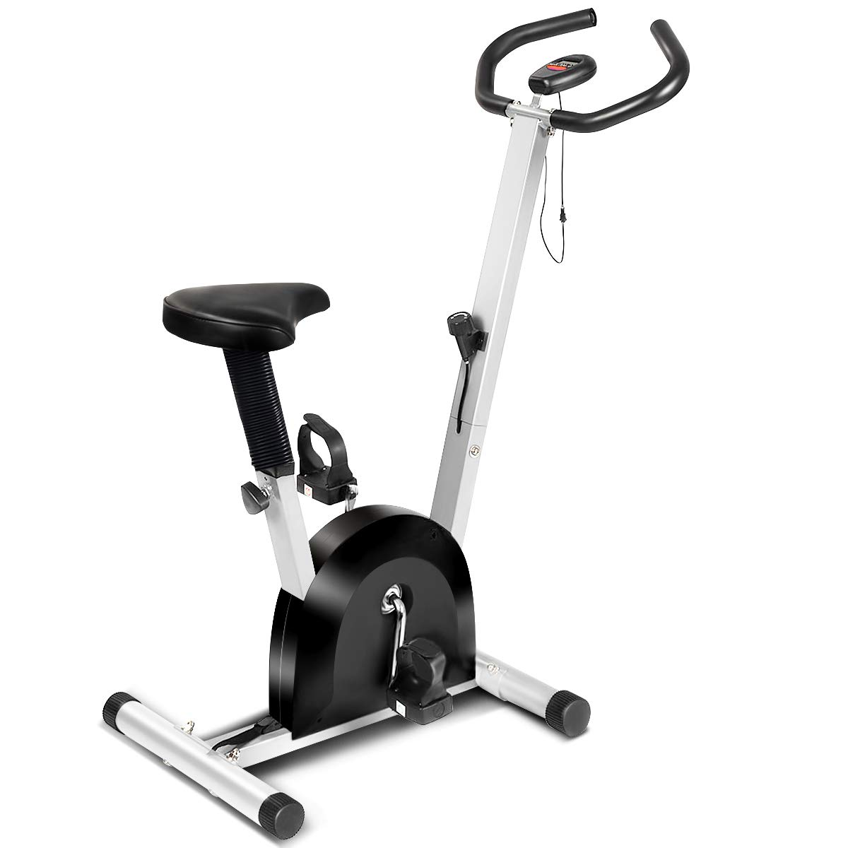 Goplus Exercise Bike Cardio Fitness Cycling Machine Gym Workout Training Stationary Indoor Cycling Bike