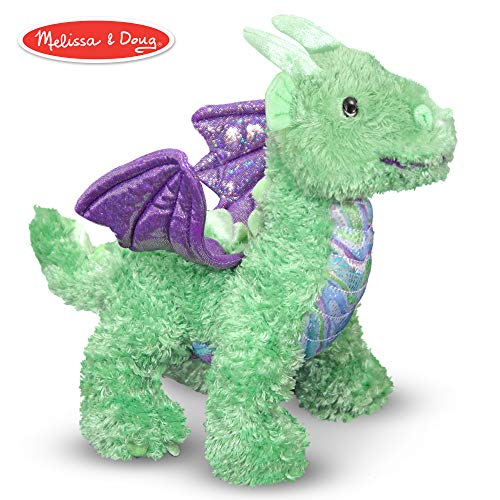 Plush Stuffed Dragon - Melissa & Doug Zephyr Dragon Stuffed Animal
