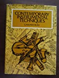 Contemporary Instrumental Techniques, Read, Gardner-, 0028721004