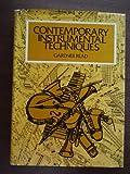 Contemporary Instrumental Techniques, Read, Gardner-, 0028721004
