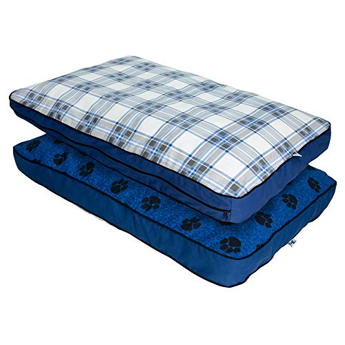 MyPillow Dog Beds, Small, Blue