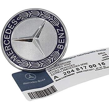 MERCEDES BENZ BADGE LOGO BONNET EMBLEM HOOD STAR 124 880 0086 67