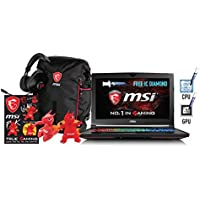 "HIDevolution MSI GT62VR 6RD Dominator-078-HID12 w/ FREE IC Diamond on CPU+GPU – Optimal System Temperatures 15.6"" Gaming Laptop (1T PCIe+2T SSD/32G RAM/FHD/i7-6700HQ/1060 6GB)"