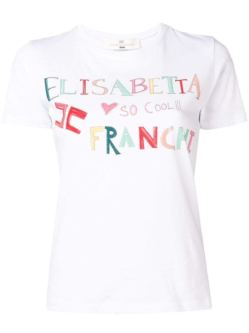 Elisabetta Franchi Abbigliamento Gesso MA10791E2