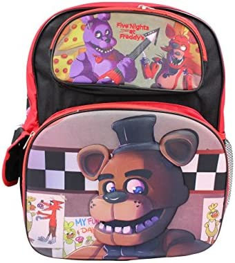 Five Nights at Freddy s Bonnie Foxy 16 inch Large Backpack