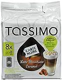 TASSIMO Carte Noire Latte Macchiato Caramel coffee 16 T DISCs/pods - Pack of 5
