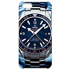 Luxury Series Omega Seamaster Planet Ocean GMT Watch 3D Hard Plastic Case Cover Snap on Iphone 5C
