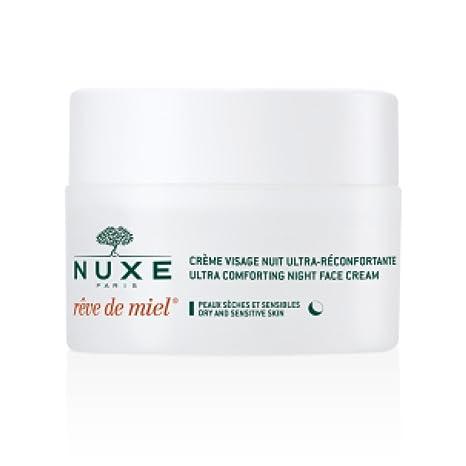 d6b4f8982 50 ml nuxe Reve De Miel muy agradable cara Noche Crema (Dry/Sensitive)