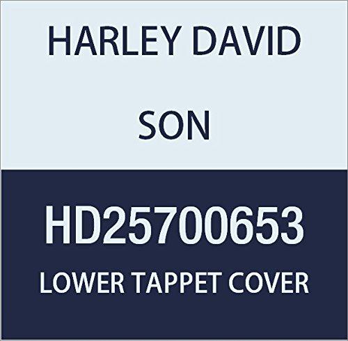 ハーレーダビッドソン(HARLEY DAVIDSON) LOWER TAPPET COVER KIT, BLACK HD25700653   B01MDPY96T