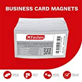 XFasten Self Adhesive Business Card Magnets, Pack
