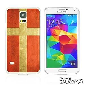 OnlineBestDigitalTM - Flag Pattern Hard Back Case for Samsung Galaxy S5 - Denmark