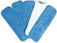 Mopa de Microfibra Cabecera de Repuesto para Trapeadora Re-Up (Seco/Mojado) compatibles con Bona Floor Care Sy