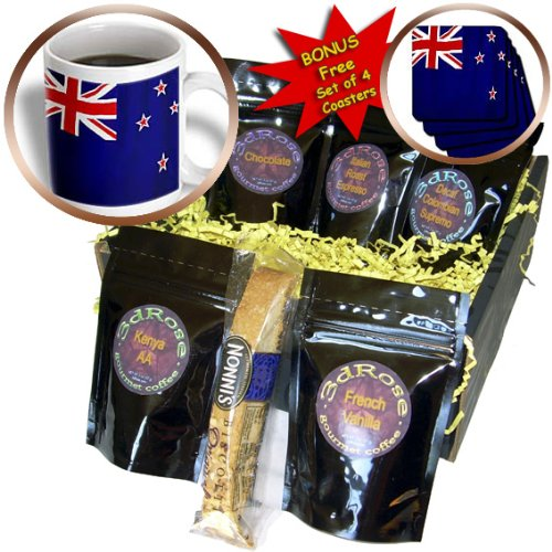 Flags - New Zealand Flag - Coffee Gift Baskets - Coffee Gift Basket (cgb_28277_1)