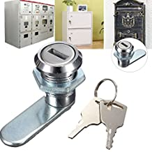 BephaMart Cam Lock Desk Drawer Lock with 2 Keys for Arcade Cupboard Mailbox File Cabinet Shipped and Sold by BephaMart
