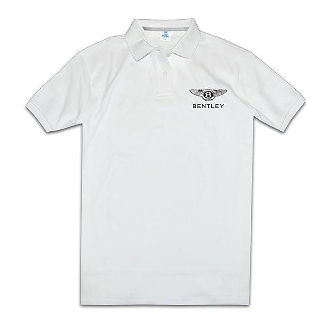 hmkolo Hombres de motor de Bentley logo performance Golf – Polo ...