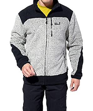 Jack Wolfskin KOBUK JACKET MEN Fleecejacke ivory heather