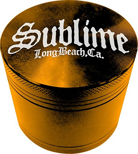 Licensed Sublime Long Beach California 4 Piece Zinc Tobacco Grinder