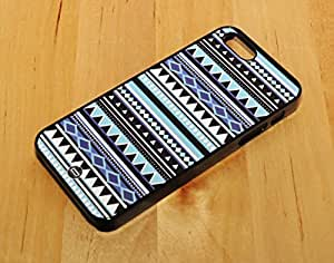 Case for Apple iphone 4s Aztec Tribal Indian Matte