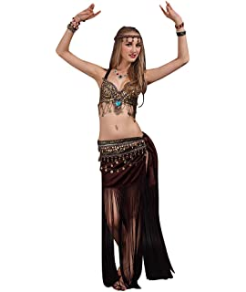 Zengbang Mujer Ropa para Practicar Baile Sujetador Faldas de ...