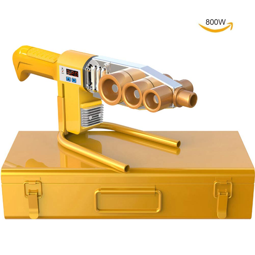 Soldadora de Tubo, Pantalla Digital Soldador de Tubo de Agua PláStico Para PE/PPR/PB/PVDF/HDPE/PVC Tubo,(20~32mm) DigitalDisplay: Amazon.es: Bricolaje y ...