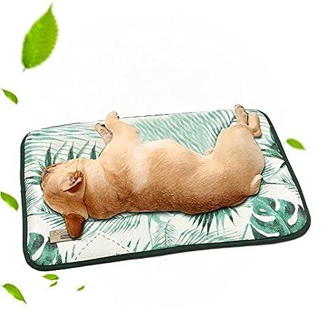 Leegoal Alfombrilla de Refrigeración para Mascotas, Cama para Perros Verano, Manta para Perro y