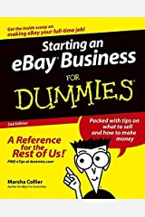 Starting an eBay Business for Dummies, Second Edition by Marsha Collier (2004-09-17) Paperback