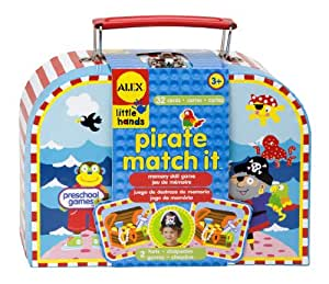 ALEX Toys Little Hands Pirate Matching