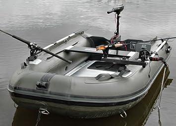 Bison Marine Olive Green Inflatable Fishing Sports Air Rib Boat 2 7m Alu Deck