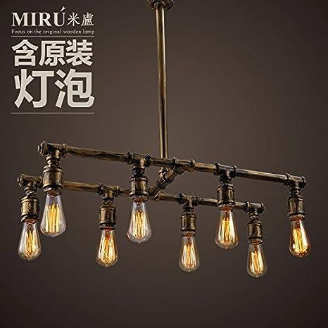 Silencio @ loft Retro creativo lámparas para colgar lámparas ...